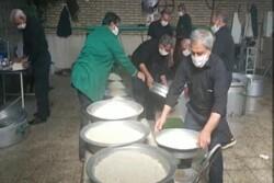 خدمترسانی موکب امام حسن مجتبی (ع) در روستای شیرحصار