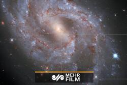 لحظه انفجار یک ستاره