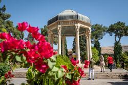 İran'ın güller ve şairler şehrindeki 'Hafıziye'