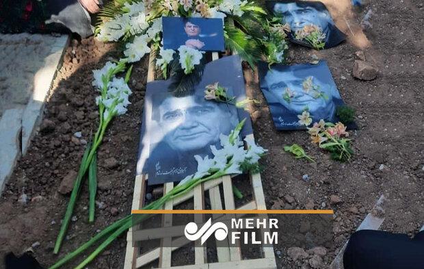 VIDEO:Master singer Shajarian laid to rest near Ferdowsi Tomb