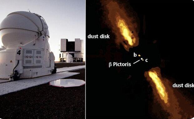 ثبت نخستین عکس مستقیم از یک سیاره فراخورشیدی