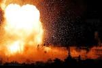 انفجار انبار مهمات تروریستها در ادلب