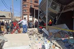 آسیب دیدگان انفجار گاز عامری اهواز در بلاتکلیفی