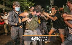VIDEO: Anti-Netanyahu protests in occupied territories