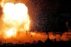 Five terrorists killed in ammo. depot blast in northern Syria