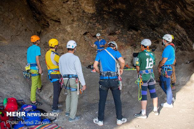 Rock climbing in Urmia