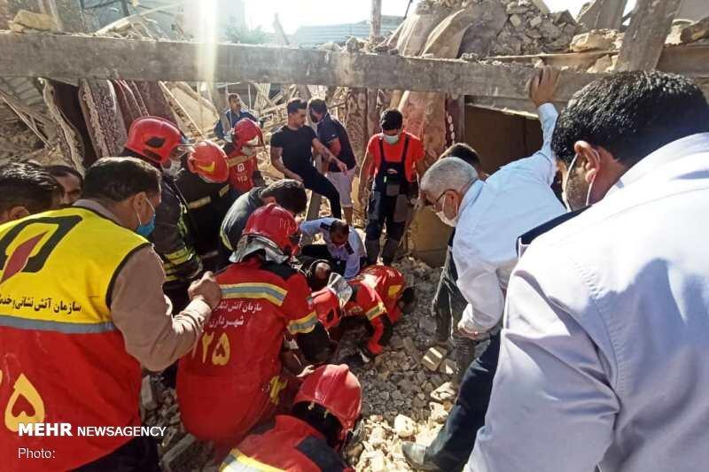 انفجار گاز در اهواز ۶ مجروح بههمراه داشت