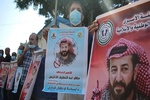 فلسطینیان در مقابل بیمارستان «کابلان» تظاهرات کردند