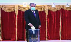 Rakhmon re-elected as Tajikistan's president
