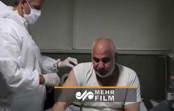 خدمت رسانی اورژانس به جانبازان برای تزریق واکسن آنفولانزا