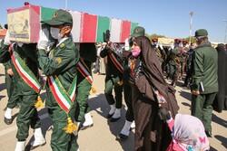 استقبال از ۳  شهید تازه تفحص شده در بجنورد