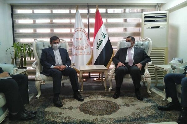 Baghdad keen on boosting financial coop. with Tehran
