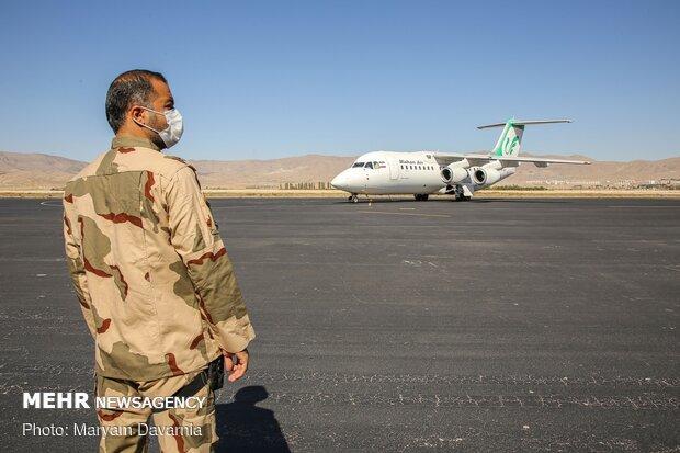 استقبال از ۳  شهید تازه تفحص شده در خراسان شمالی
