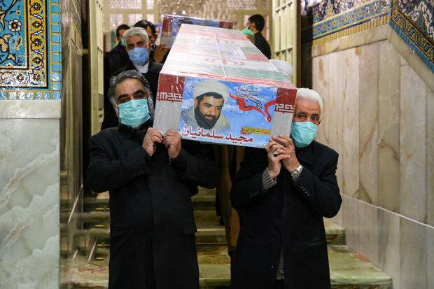 پیکر شهید سلمانیان پنجشنبه در کرج تشییع میشود