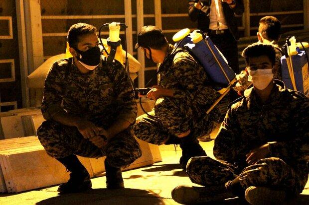 لبیک ۸۰۰ گروه جهادی بسیج در استان قزوین به فرمان رهبری