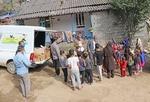 طرح امداد فرهنگی در روستاهای سیلزده تالش اجرا شد