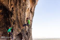 İran'da Kaya Tırmanışı