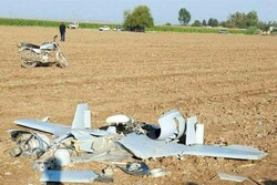 Drone crashes in NW Iran: report