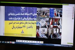اهدای ۲۵ دستگاه کمک تنفسی ویژه بیماران کرونایی به استان بوشهر