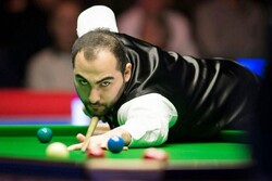 Iranian snooker player starts 2020 English Open with victory