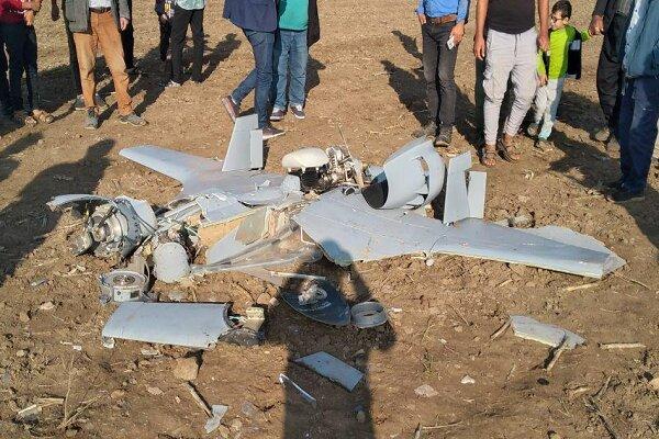 İran'da milliyeti bilinmeyen bir hava aracı düştü