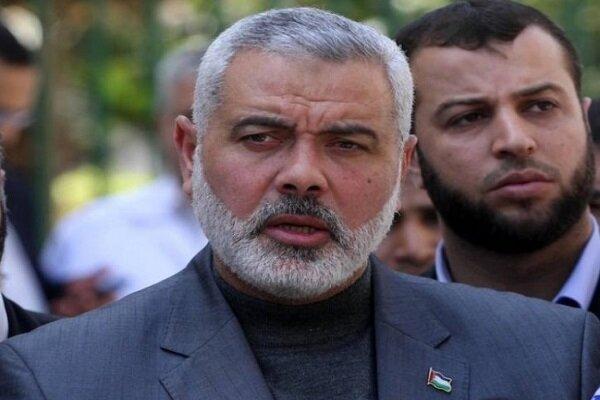 Hamas's Haniyeh condoles Ghaani on demise of Gen. Hejazi