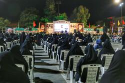 مراسم وداع الشهداء المدافعين عن الحرم الزینبي/ صور