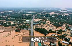 Vietnam'daki sel felaketinden görüntüler