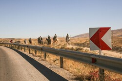 کاروان سوارکاران بجنورد در راه مشهد الرضا(ع)