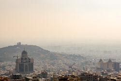 وارونگی و آلودگی هوای کرج