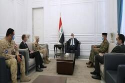 الكاظمي يبحث مع بعثة الناتو دعم القوات العراقية
