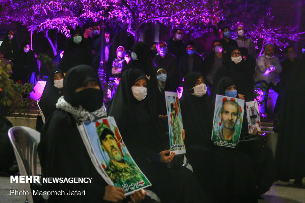 Farewell ceremony for resistance martyrs in Mazandaran
