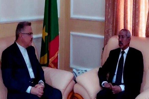 Iran, Mauritania emphasize strengthening defense coop.