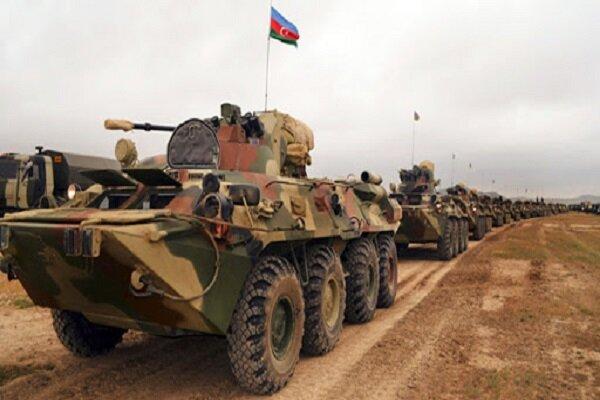 تدمير 552 آلية عسكرية اذربيجانية خلال المعارك مع ارمينيا