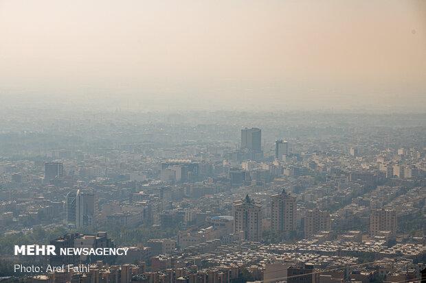 کیفیت هوای البرز تا پایان هفته ناسالم است
