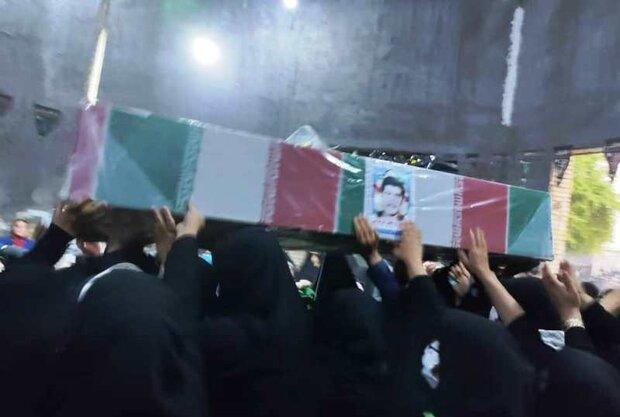 آئین استقبال از شهید خوزستانی در شوشتر برگزار شد