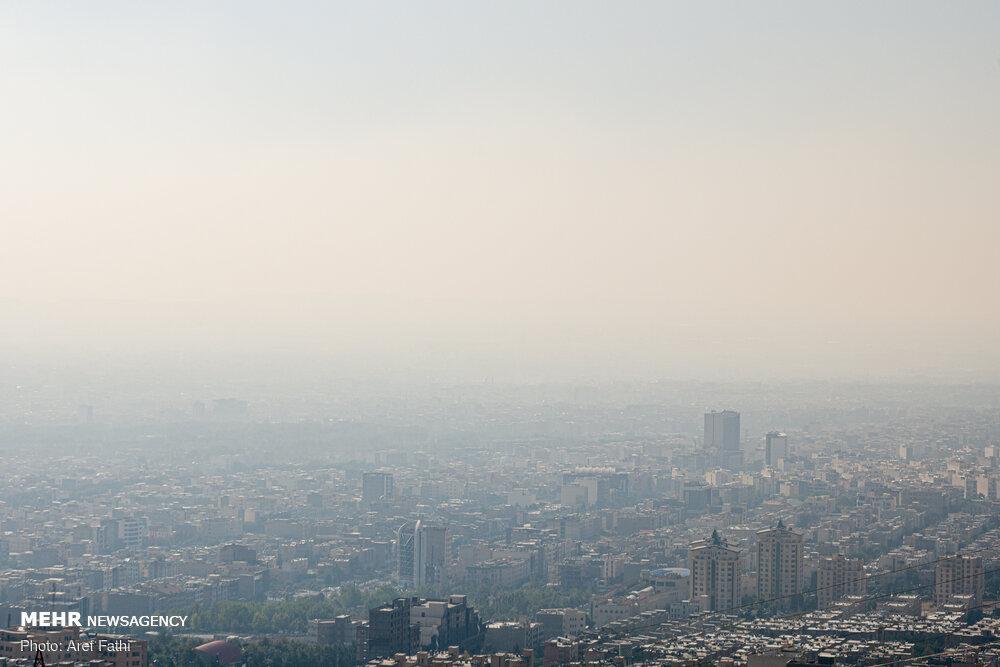 آلودگی هوای البرز در سطح هشدار زرد