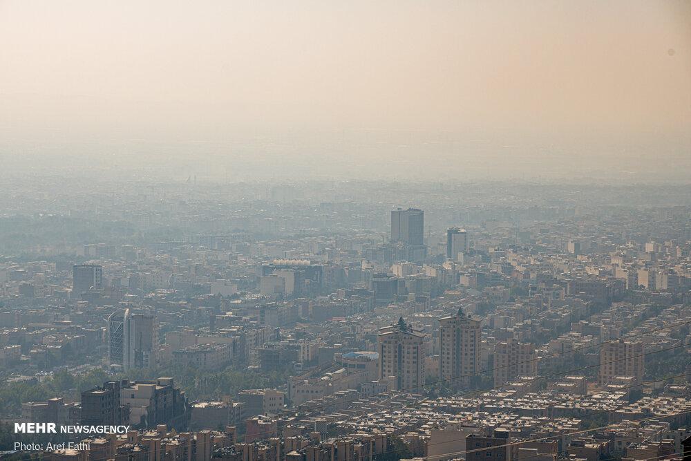 3579860 » مجله اینترنتی کوشا » هوای پایتخت همچنان ناسالم است/یکشنبه هوا گرمتر میشود 1