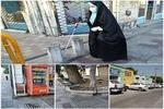 روشندلان و دردسرهای تردد در فضای شهری همدان/مناسب سازی شعار است