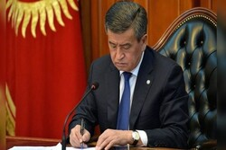 Kyrgyzstan president resigns after unrest