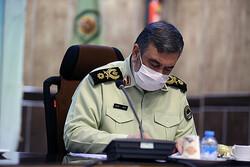 پیام فرمانده ناجا به مناسبت بازگشت شهدای خان طومان