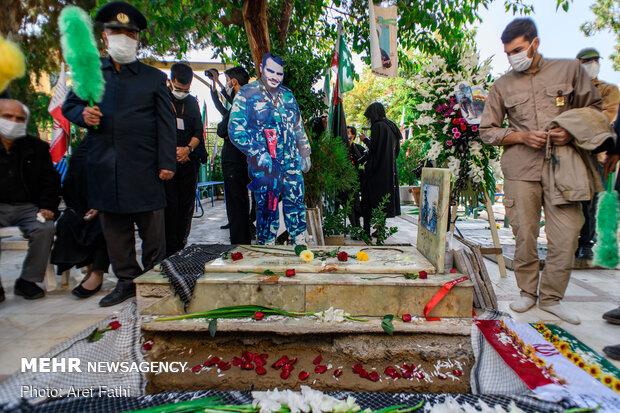 تشییع پیکر مطهر شهید سلمانیان در کرج