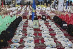 قم میں مستحق افراد کے درمیان 6500 امدادی اور غذائی پیکیجز کی تقسیم