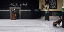 پیغمبر اسلام (ص) کی رحلت اور امام حسن مجتبی(ع) کی شہادت کی مناسبت سے مجلس عزا منعقد