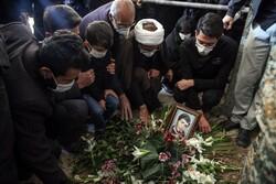 زنجان میں شہید مسعود منتجبی کی تشییع جنازہ