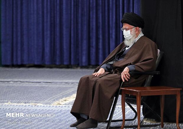 حسینیہ امام خمینی میں پیغمبر اکرم(ص) کی رحلت اور امام حسن (ع) کی شہادت کی مناسبت سے مجلس عزا منعقد