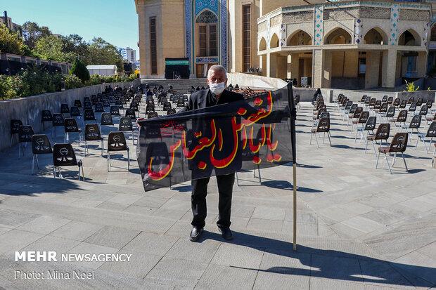 Tebriz'deki matem töreninden fotoğraflar