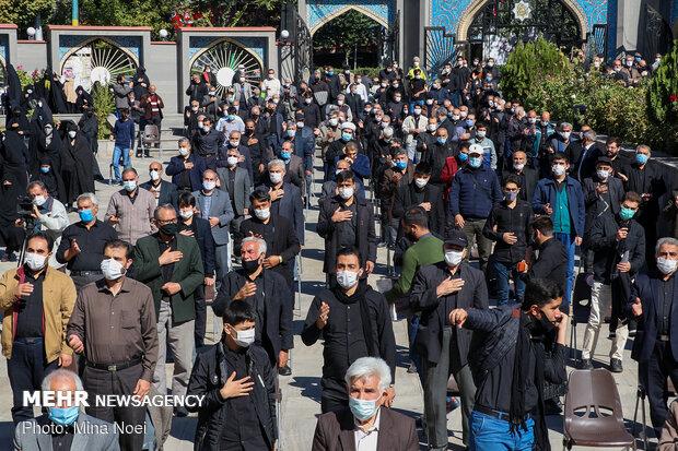 Tebriz'deki matem töreninden fotoğraflarز