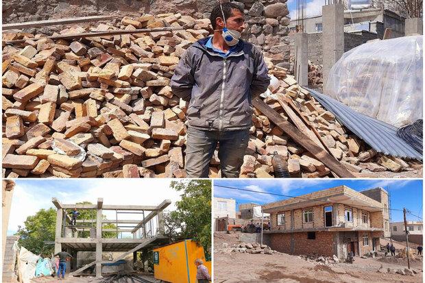 وقتی گرانی مصالح بر سر زلزلهزدگان آذربایجان شرقی آوار میشود