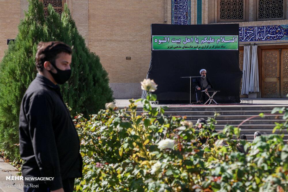عزاداری رحلت رسول اکرم(ص) و شهادت امام حسن(ع) درمصلی تبریز